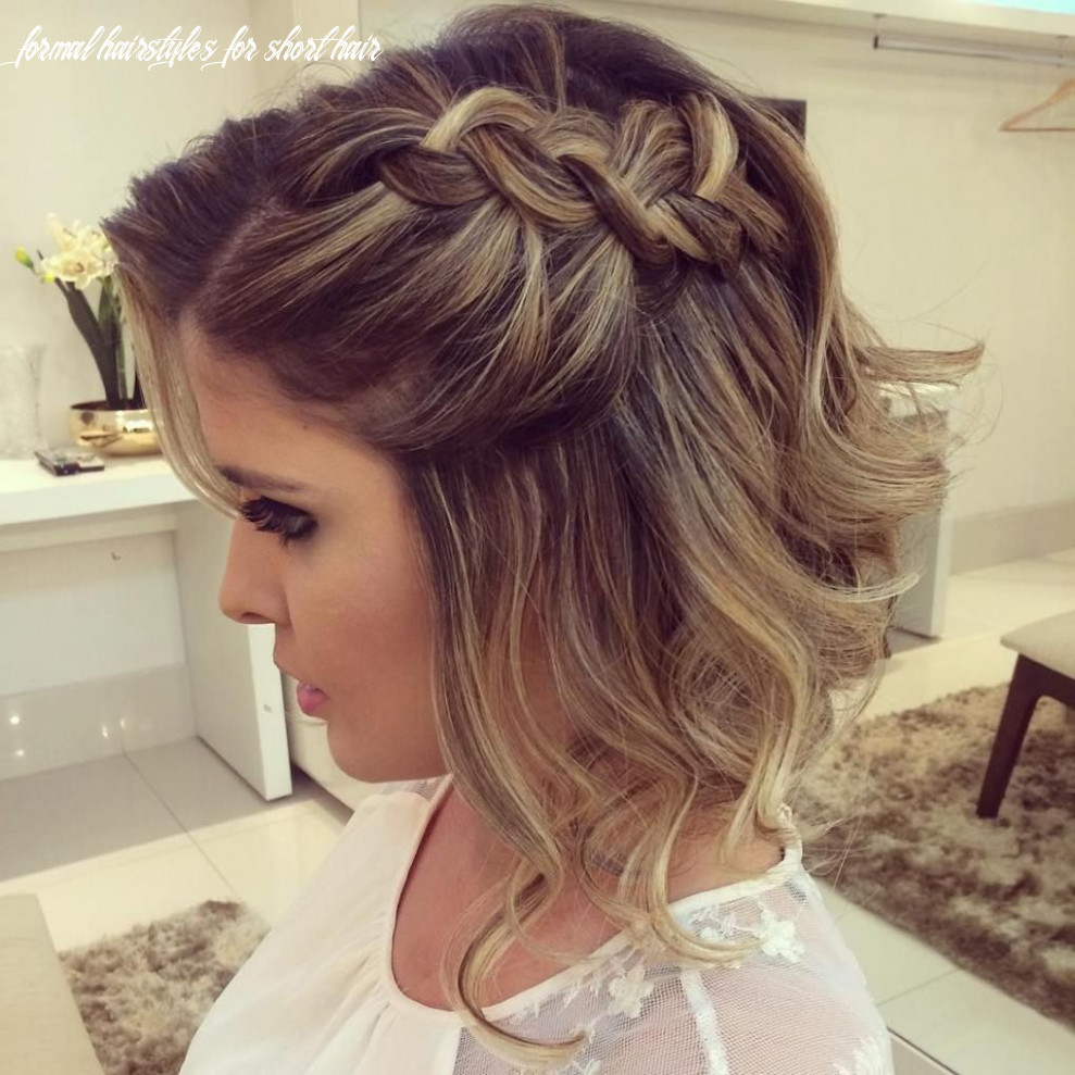 9 hottest prom hairstyles for short hair | prom hairstyles for
