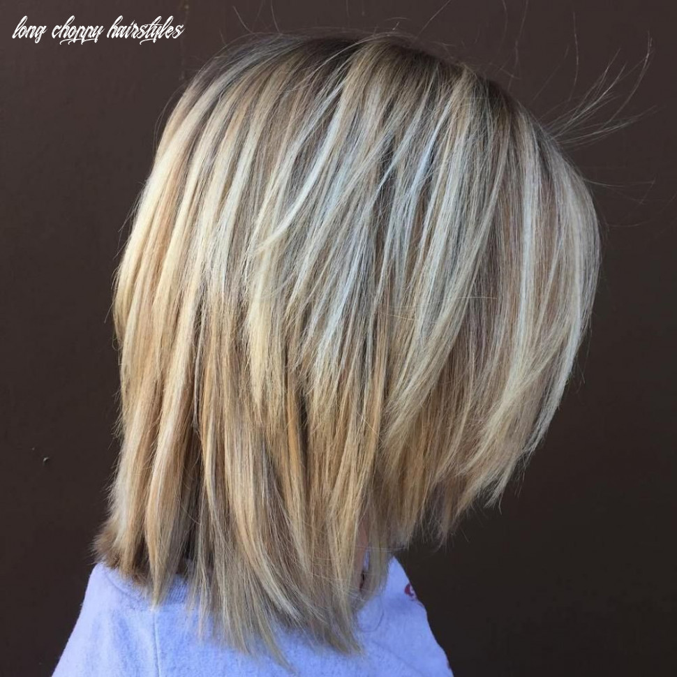 9 long choppy bob hairstyles for brunettes and blondes in 99