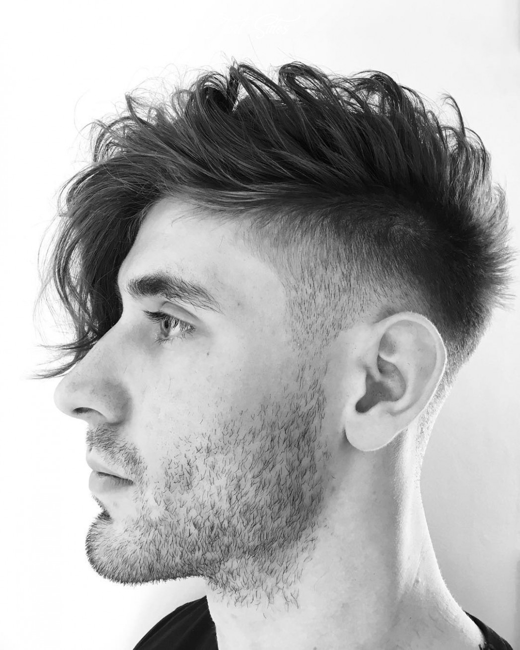 9 long hair haircuts hairstyles for men: best of > july 9 mens haircut long front short sides