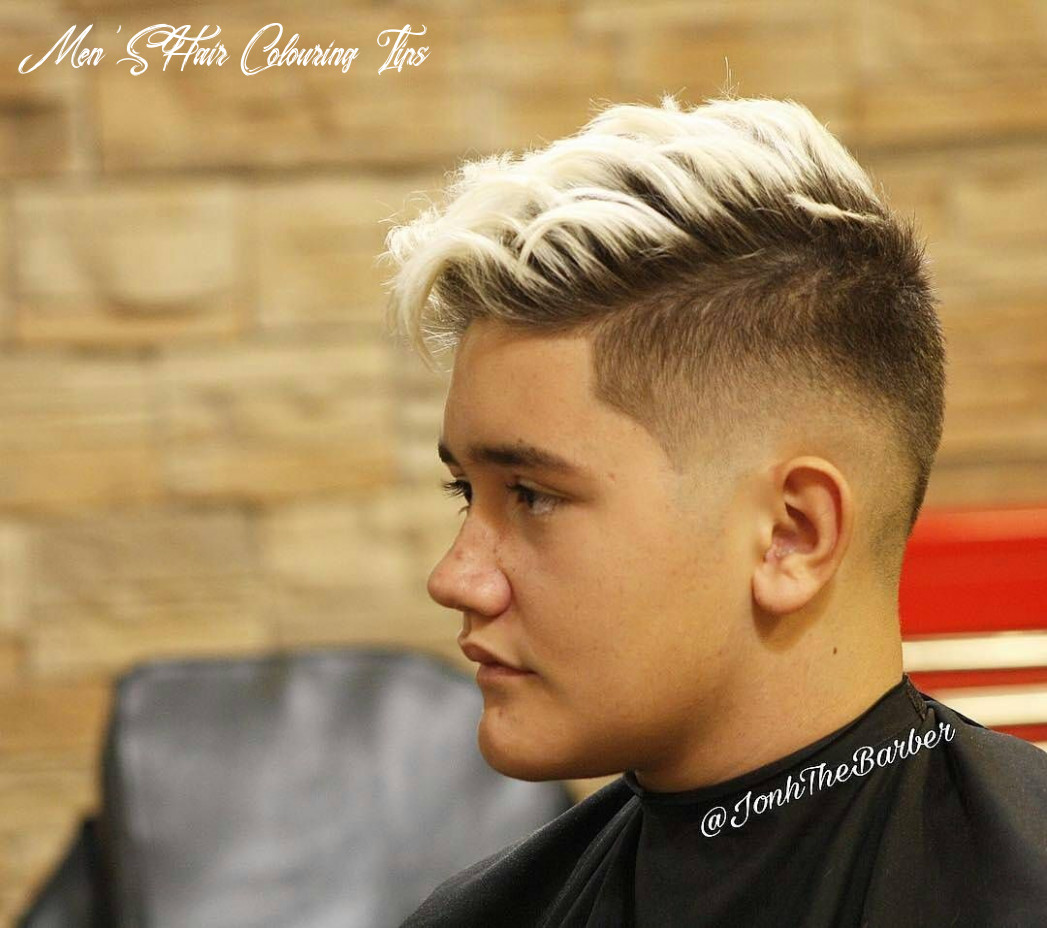 9 magnificent male hair color & hair dye ideas! do yourself