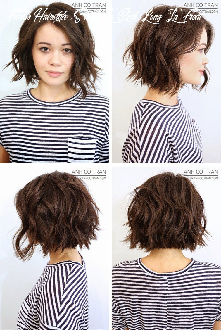 9 marvelous photo of back of short hairstyles for women (with