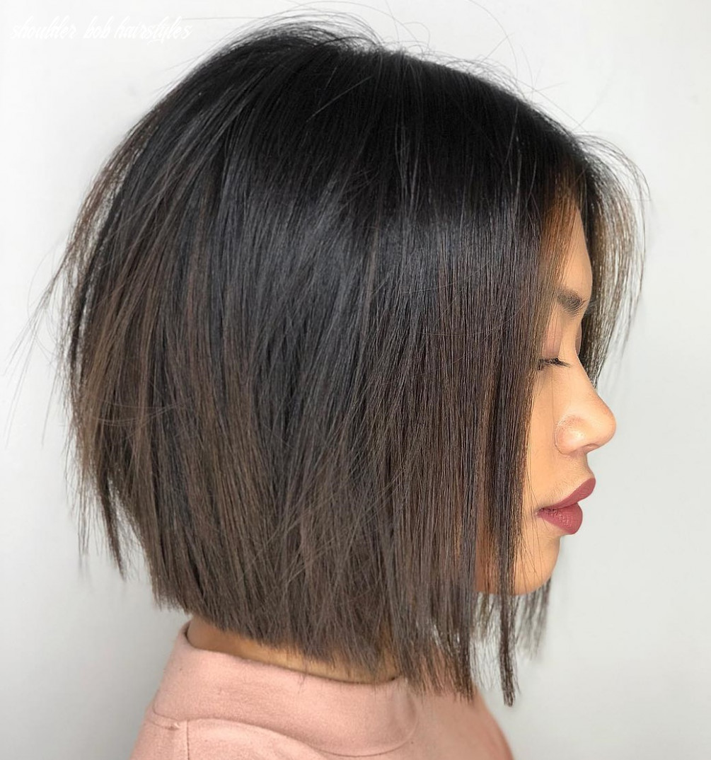 9 medium bobs from the best hairstylists hair adviser shoulder bob hairstyles