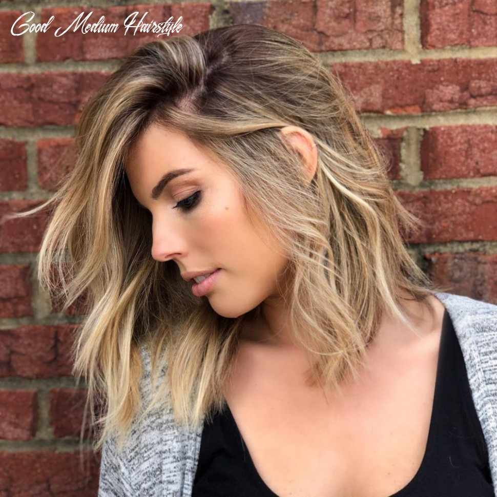 9 medium hairstyles for oval faces in 9 good medium hairstyle
