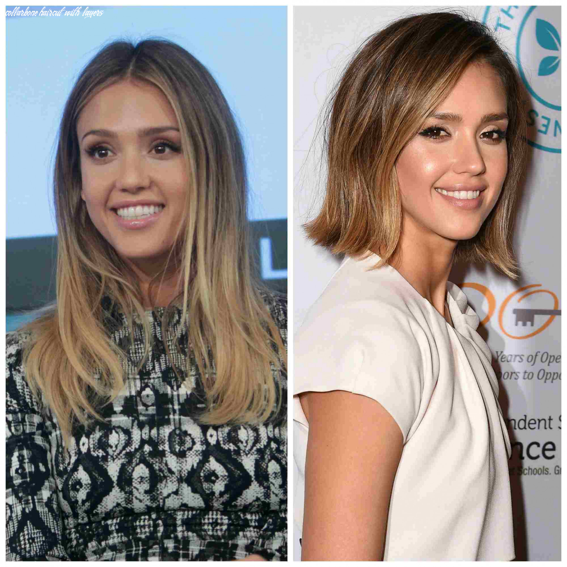 9 medium length hairdos perfect for thick or thin hair collarbone haircut with layers