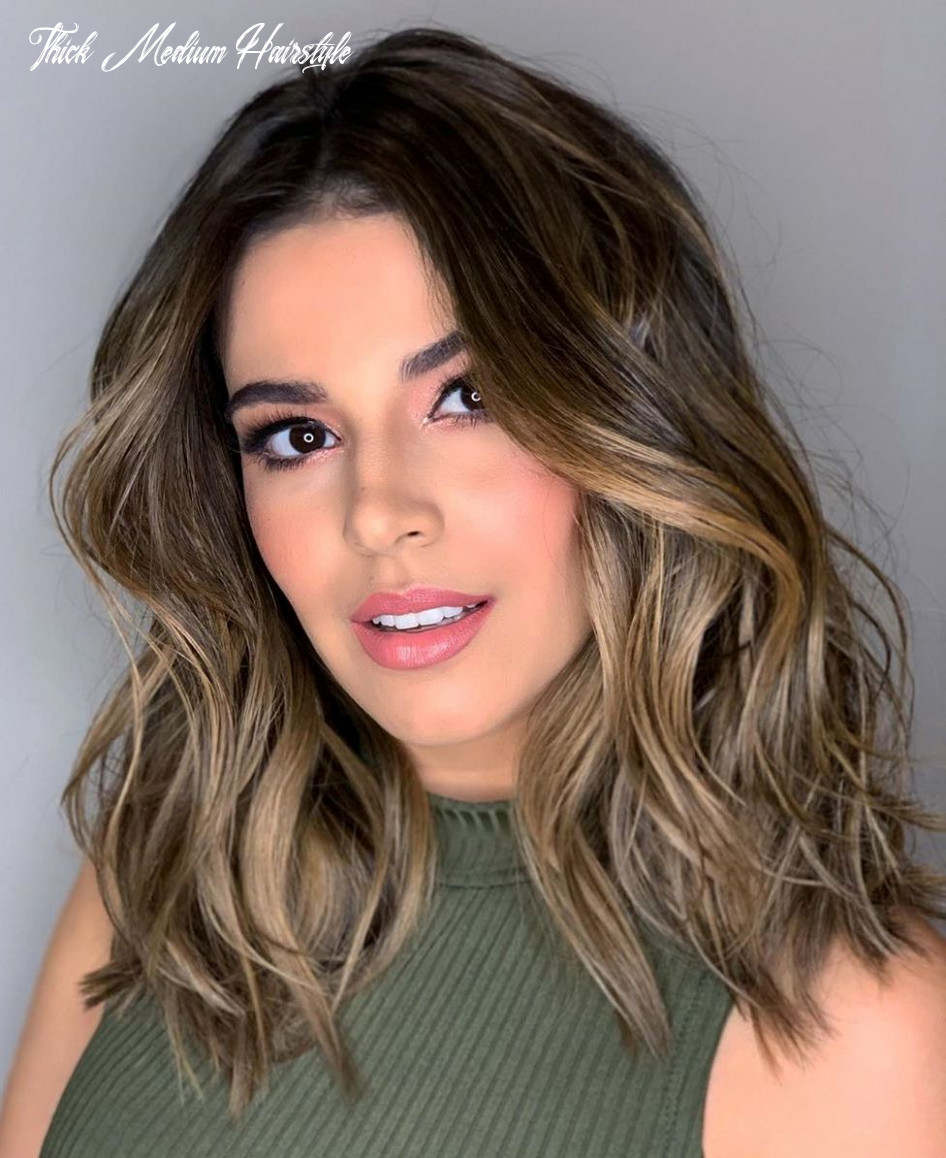 9 medium length hairstyles for thick hair ⋆ palau oceans thick medium hairstyle
