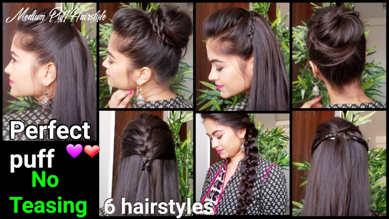 9 min perfect puff & 9 quick easy hairstyles for medium to long