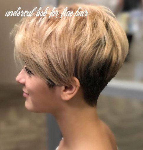 9 mind blowing short hairstyles for fine hair undercut bob for fine hair
