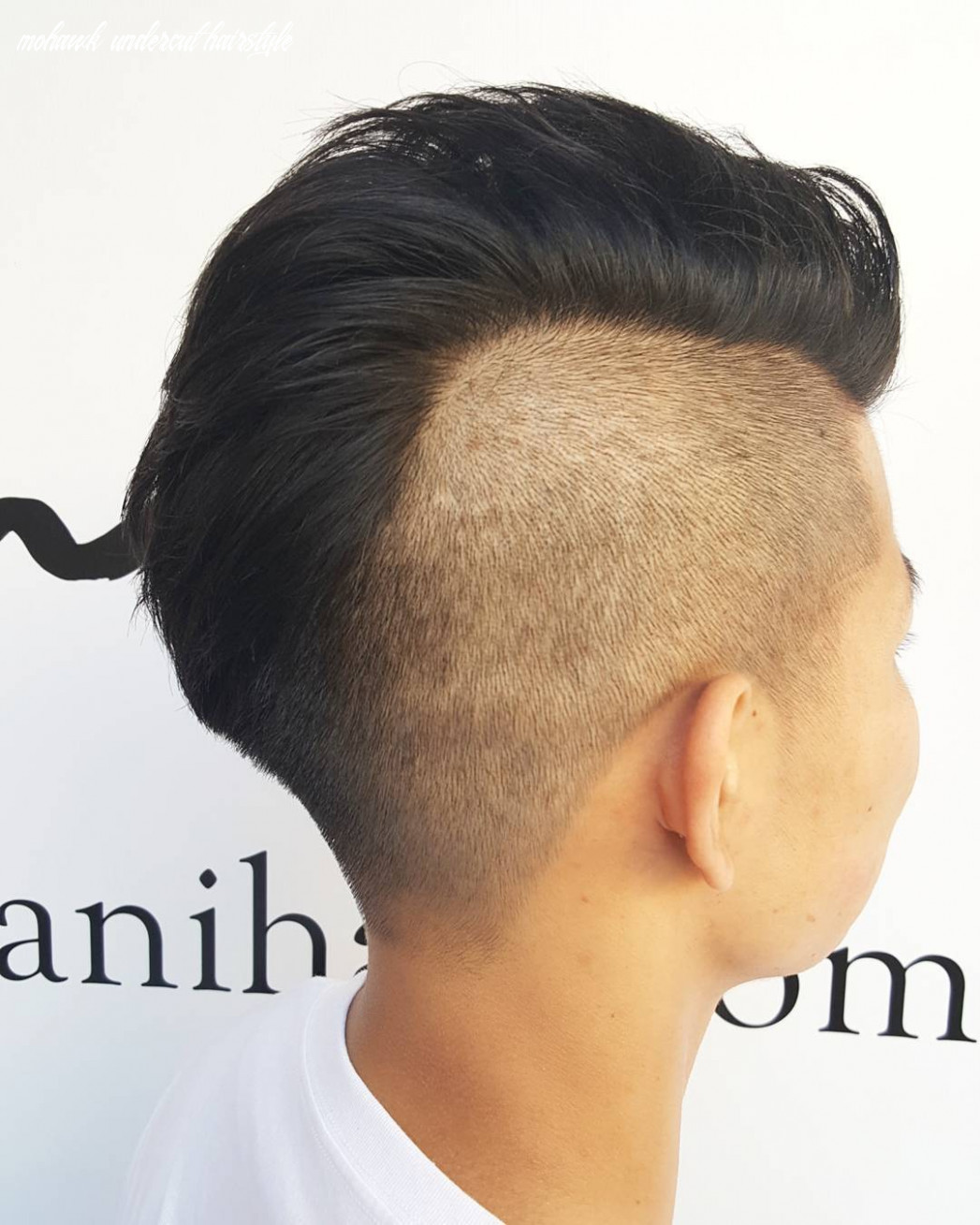 9 mohawk haircuts for 9 > totally cool styles mohawk undercut hairstyle