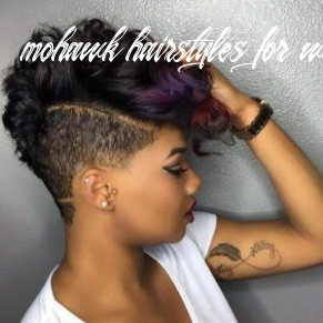9 mohawk hairstyles for black women | short natural hair styles