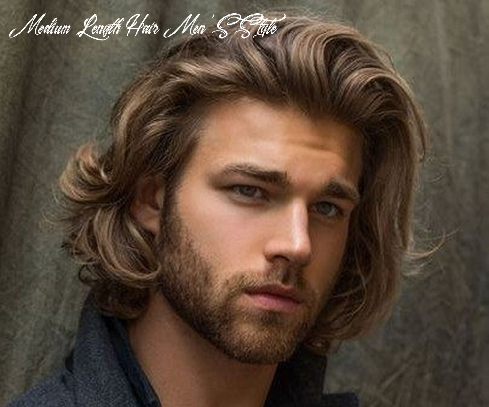 9 most cool medium length hairstyles for men 9   mens