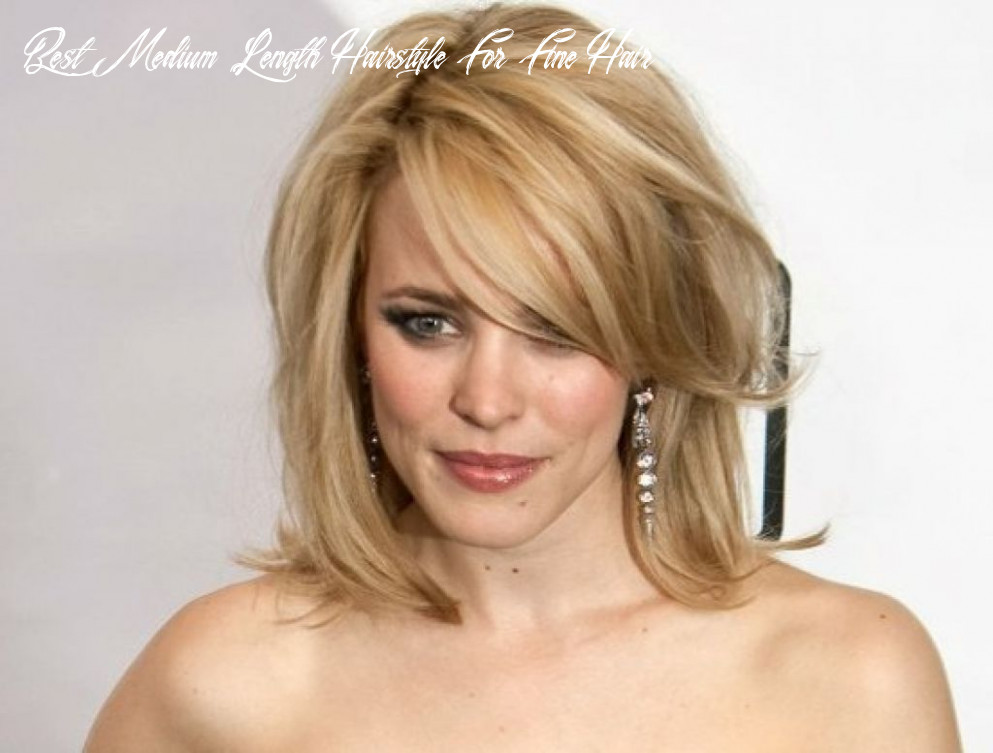 9 most dazzling medium length hairstyles for thin hair haircuts