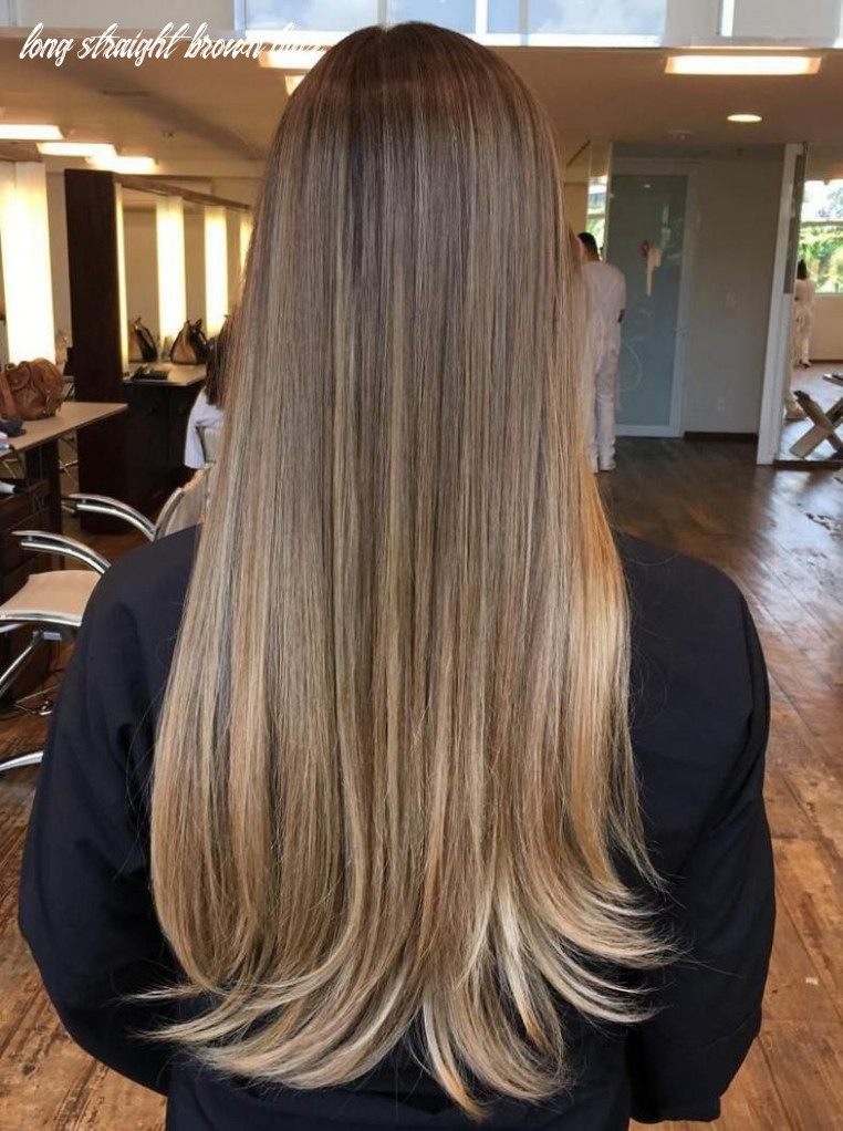 9 most exciting shades of brown hair | balayage straight hair