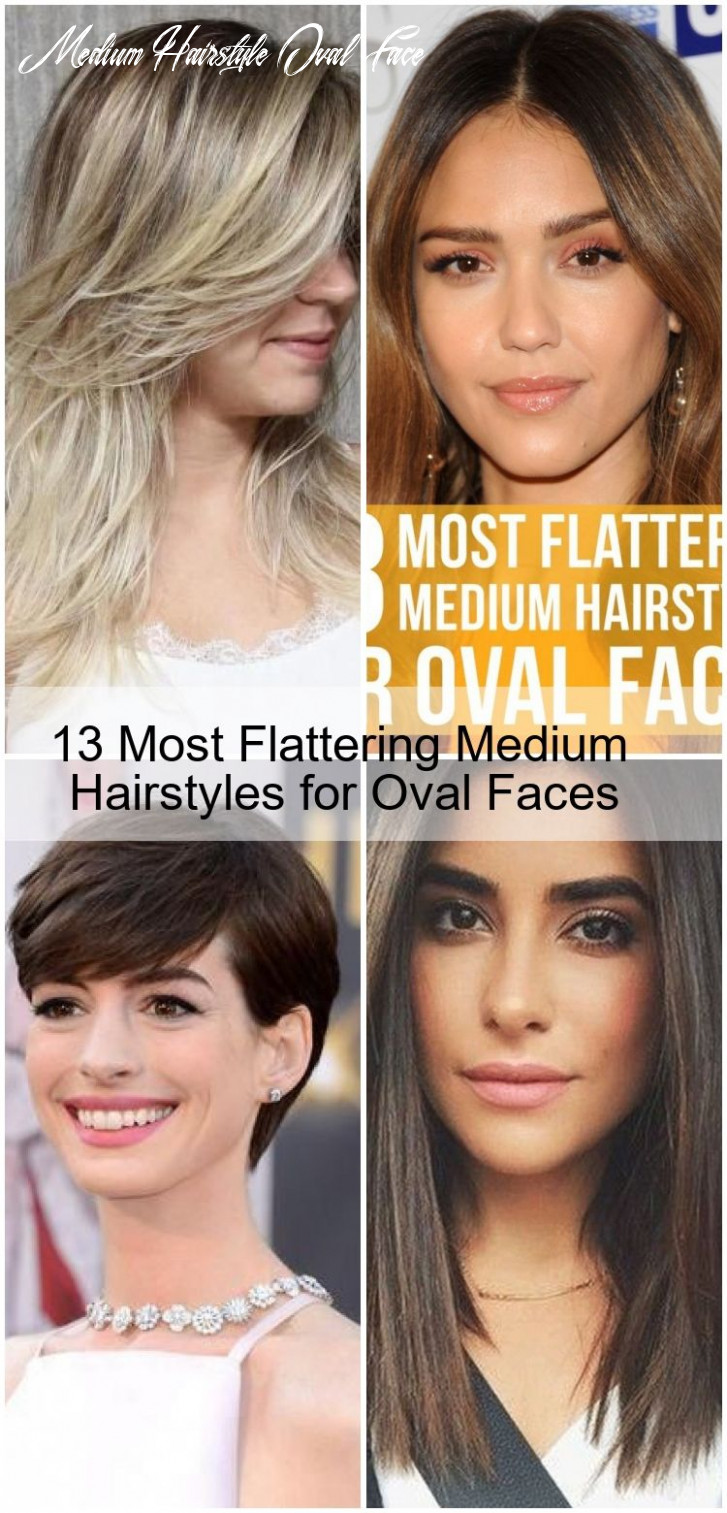 9 most flattering medium hairstyles for oval faces , #faces
