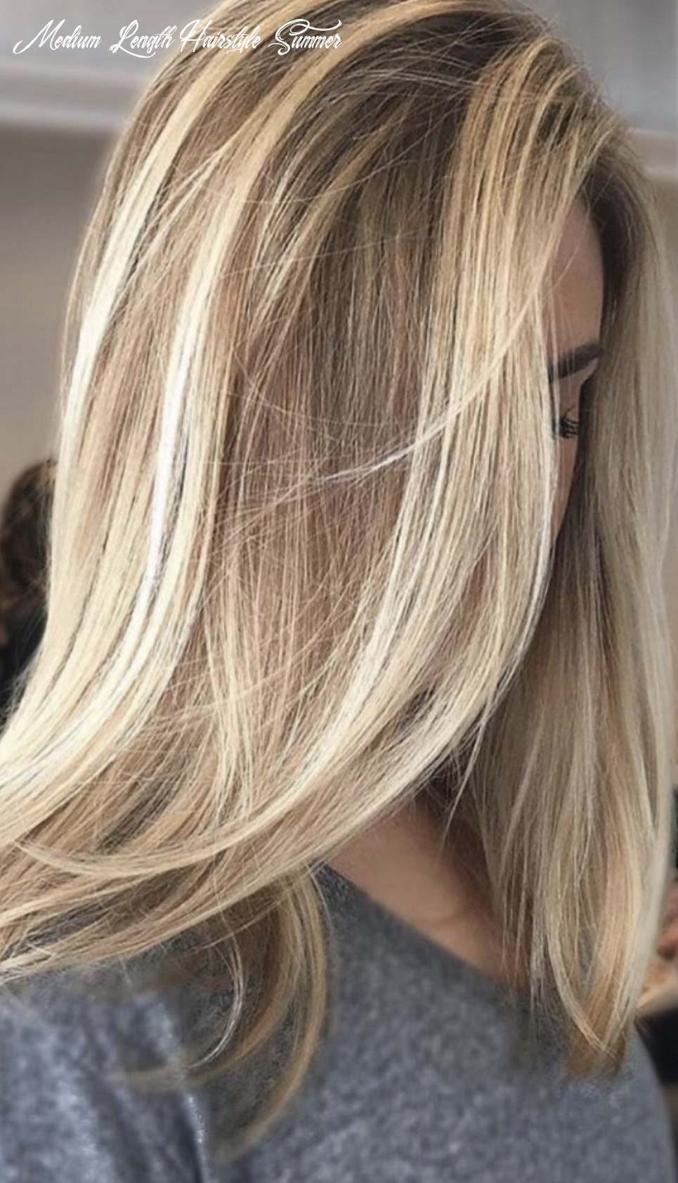 9+ Most Lovely Medium Length Light Color Hairstyles For This ...