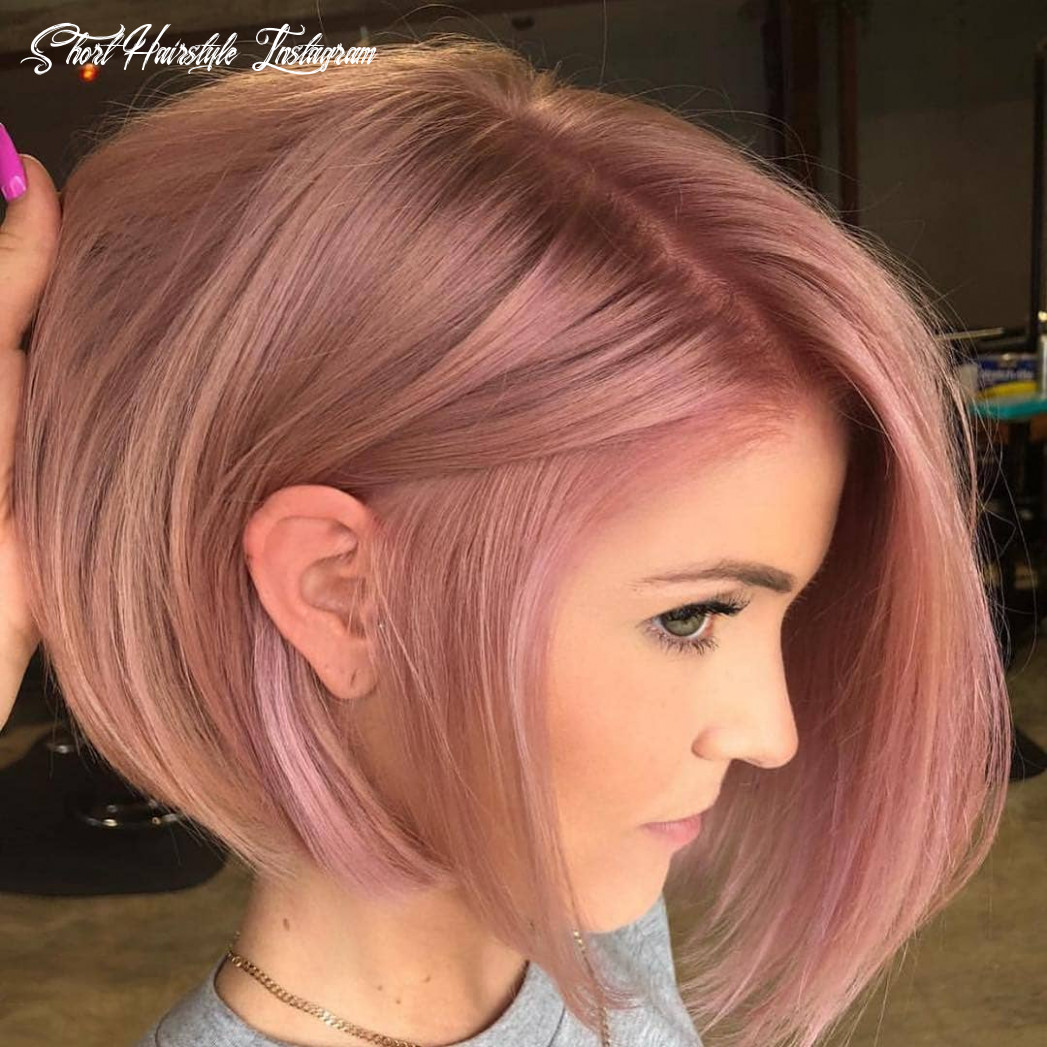 9 of the most stunning short hairstyles on instagram (march 9) short hairstyle instagram