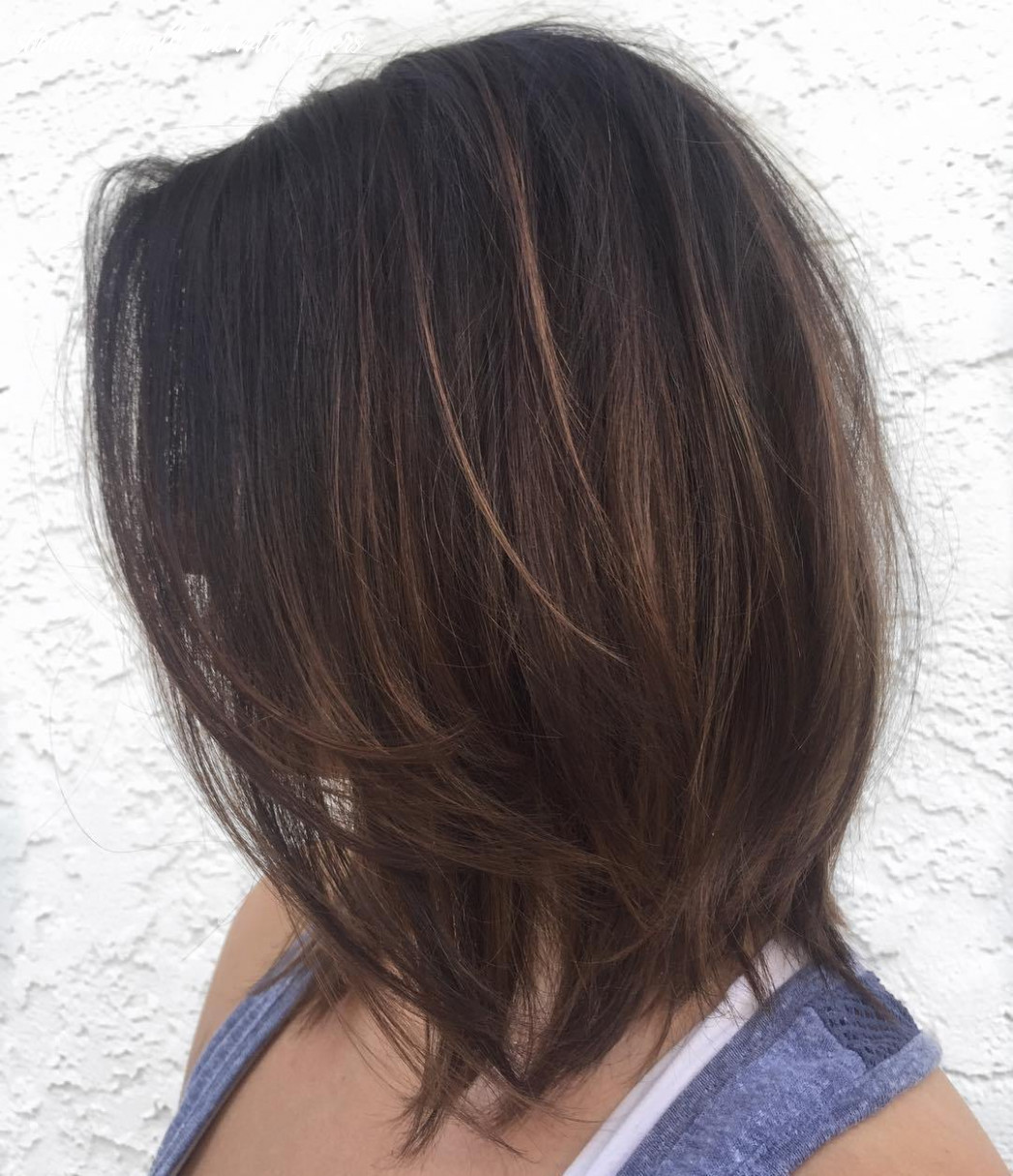 9 perfect medium length hairstyles for thin hair in 9 shoulder length bob with layers
