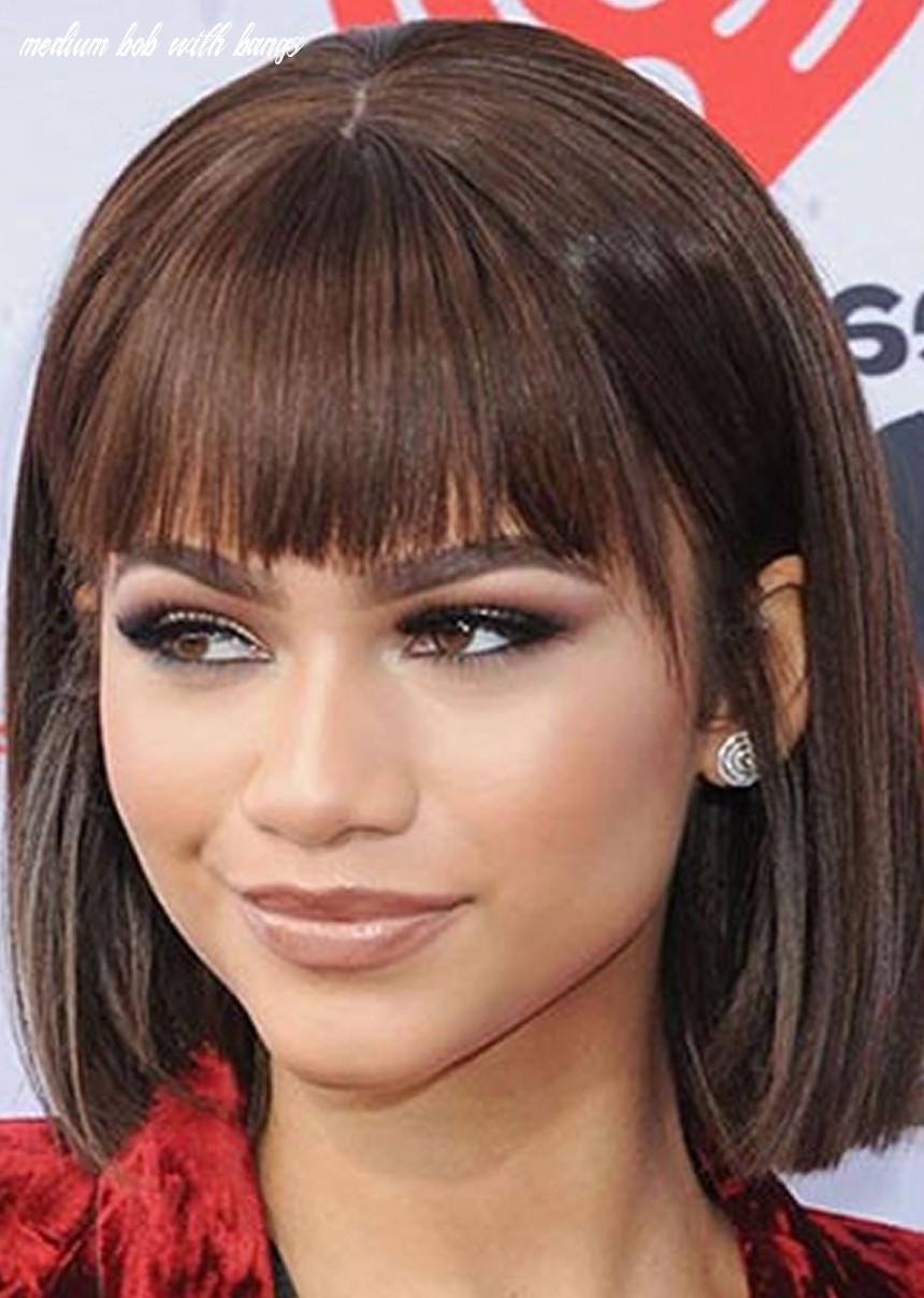 9 Perfectly Imperfect Medium Bob Haircuts for Girls and Women ...