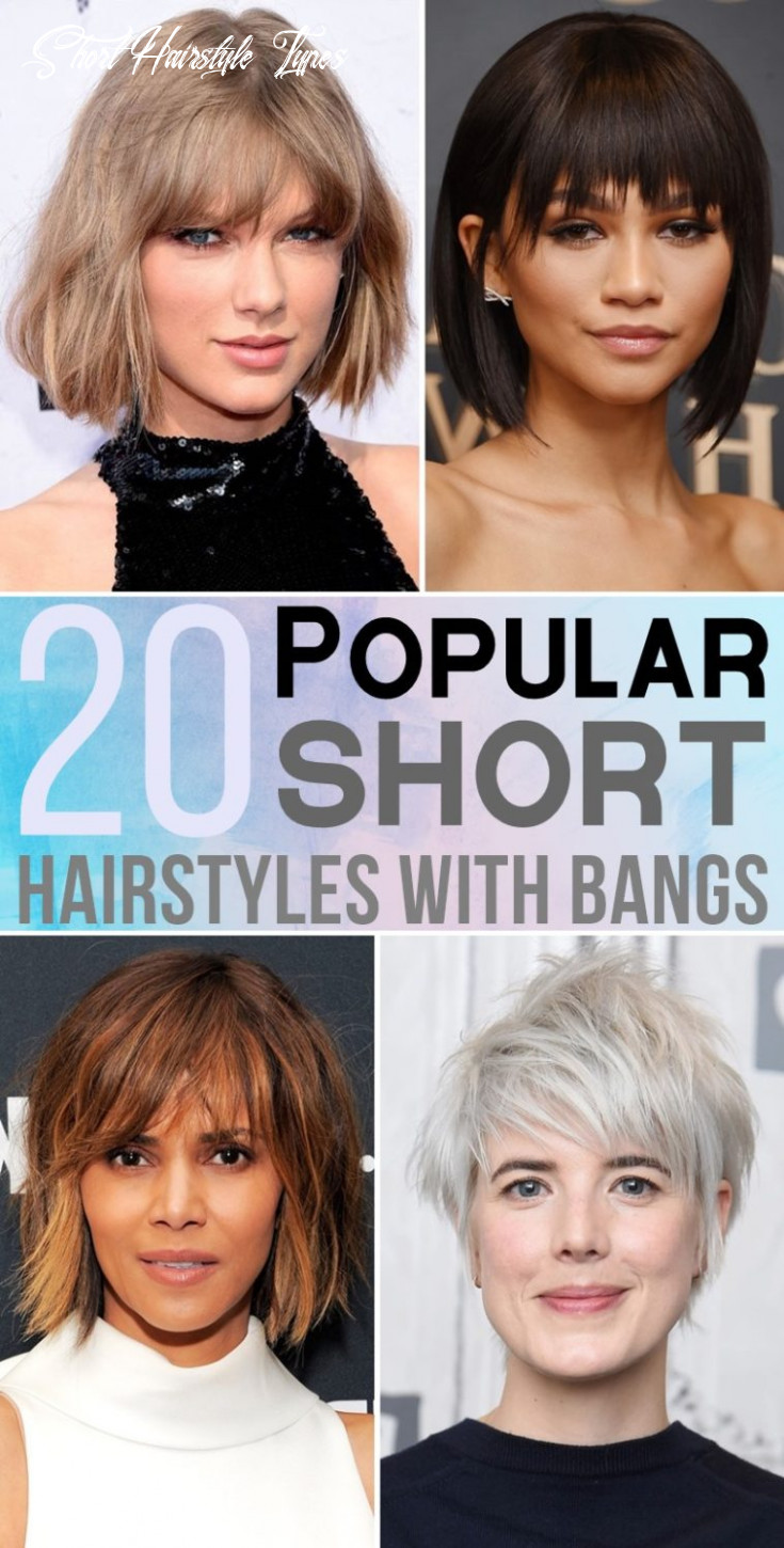 9 popular short hairstyles with bangs short hairstyle types