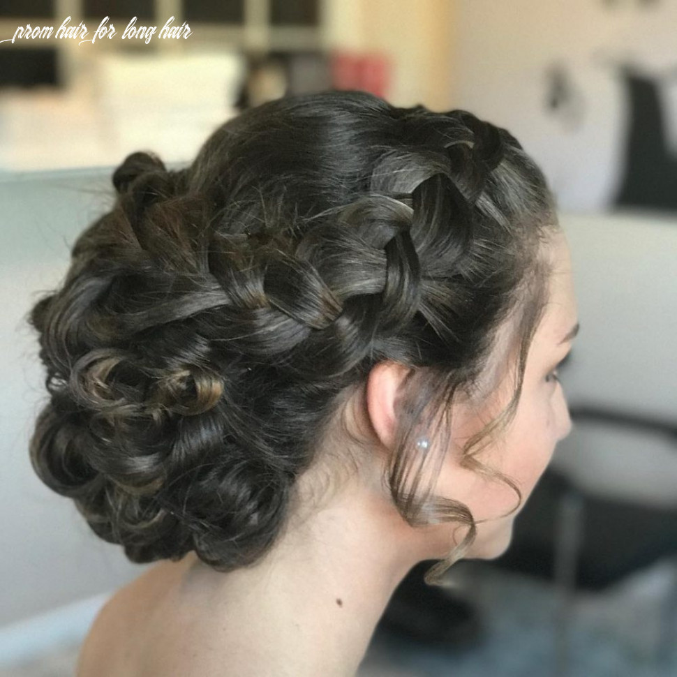 9 Prettiest Prom Updos for Long Hair for 9