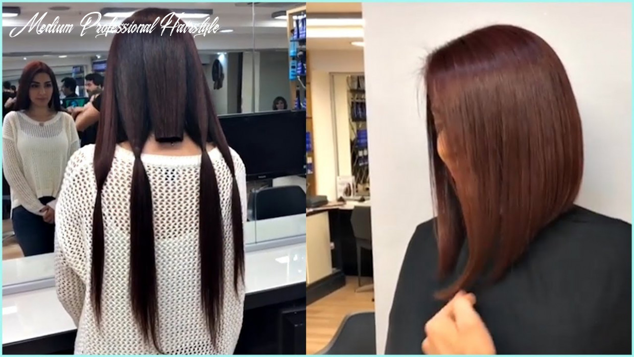 9 professional haircuts for women 😍 amazing short and medium haircuts medium professional hairstyle