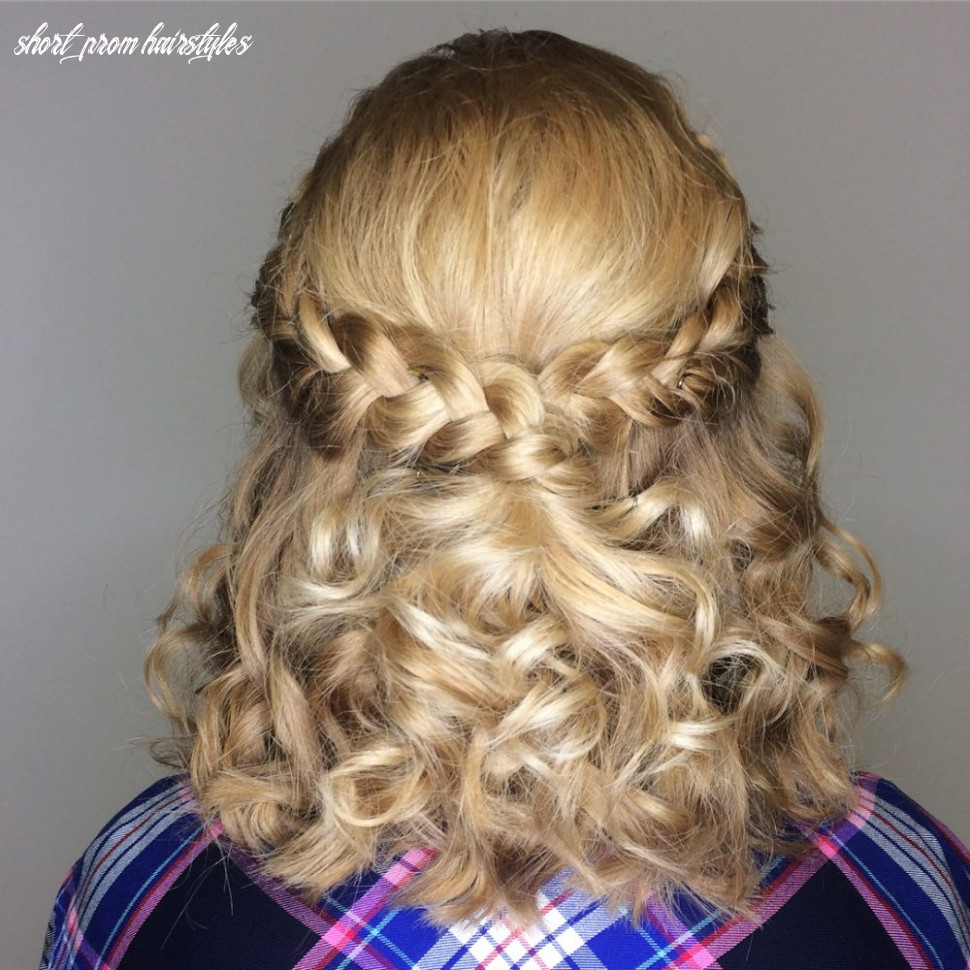 9 prom hairstyle for short hair in 9 is here ( 97 more) short prom hairstyles