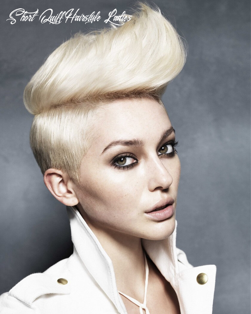 9 Quiff Short Hairstyles for Women | Hairdo Hairstyle