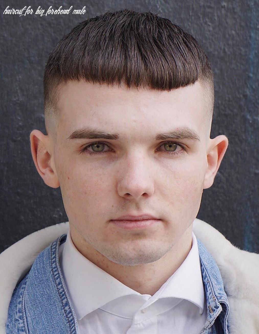 9 selected hairstyles for men with big foreheads haircut for big forehead male