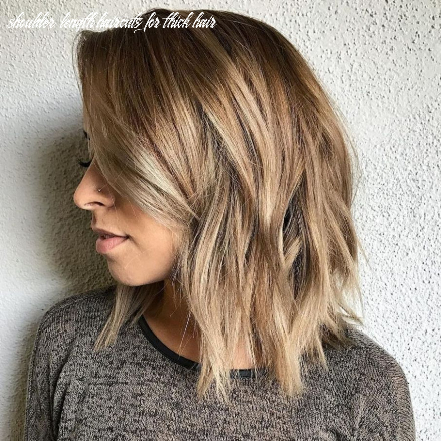 9 sensational medium length haircuts for thick hair | haircut for