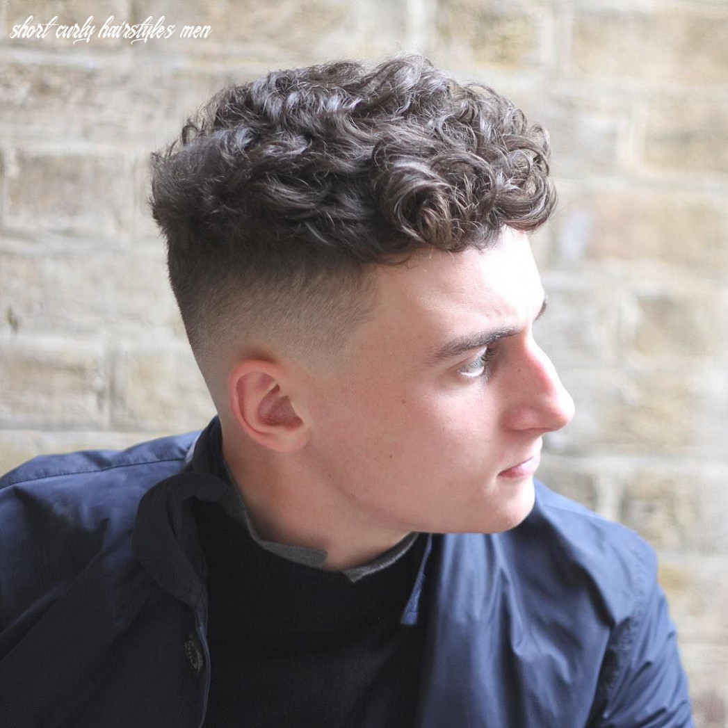 9 sexiest short curly hairstyles for men | short curly hair