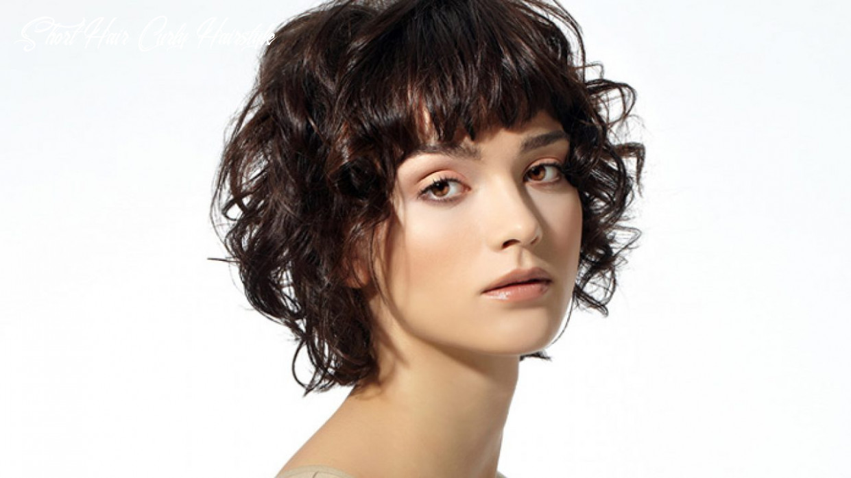 9 Short Curly Hairstyles that are Always in Vogue! | LivingHours
