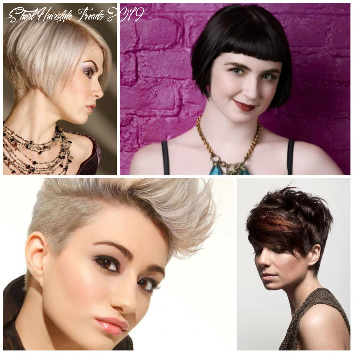 9 short haircut trends hairstyleto short hairstyle trends 2019