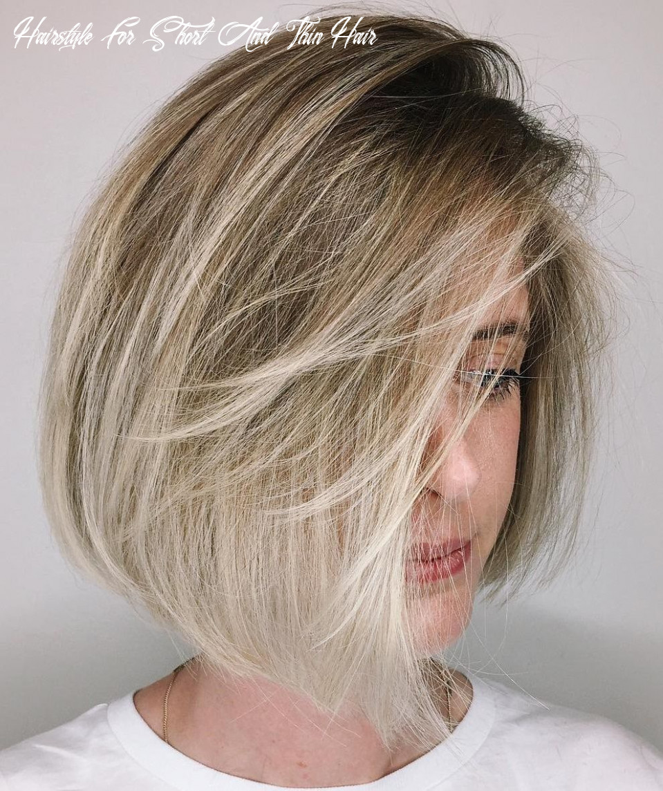 9 short haircuts for fine thin hair to rock in 9 | short thin