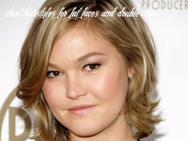 9 short hairstyles for fat faces & double chins fashiondioxide short hairstyles for fat faces and double chins