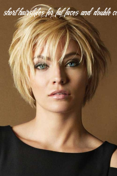9 short hairstyles for fat faces and double chins for slimmer look short hairstyles for fat faces and double chins 2020