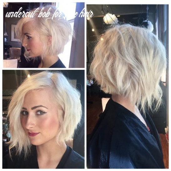 9 short hairstyles perfect for fine hair popular haircuts undercut bob for fine hair
