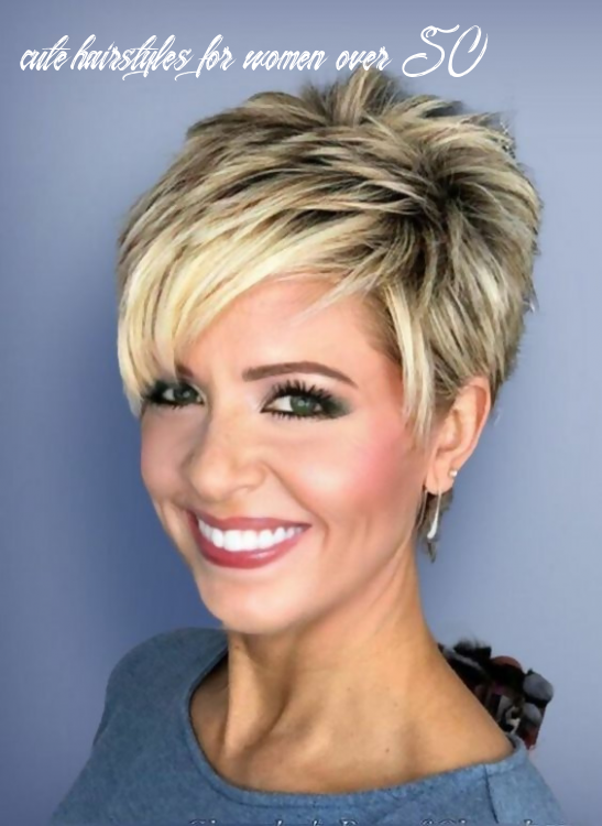 9 simple and classic short haircuts for women over 9 | haircut