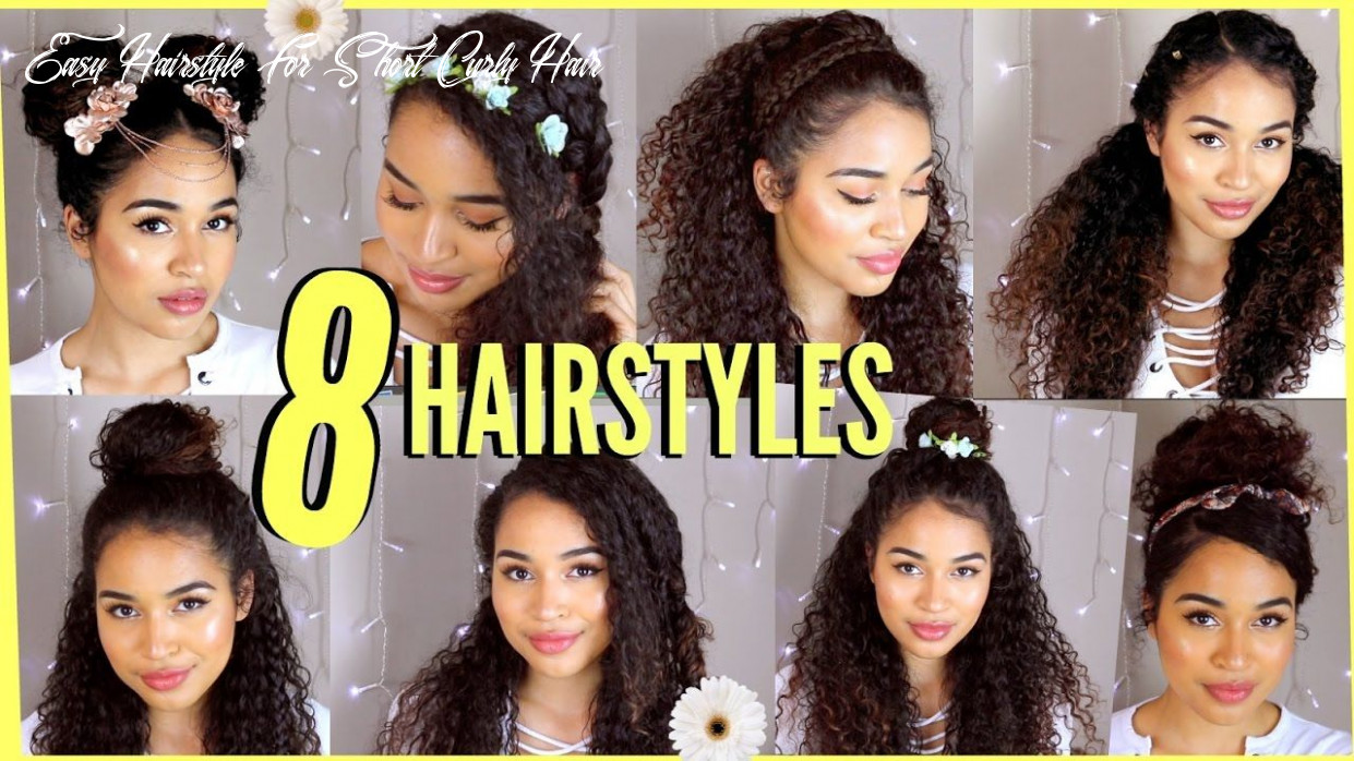 9 spring/summer hairstyles for naturally curly hair! by lana