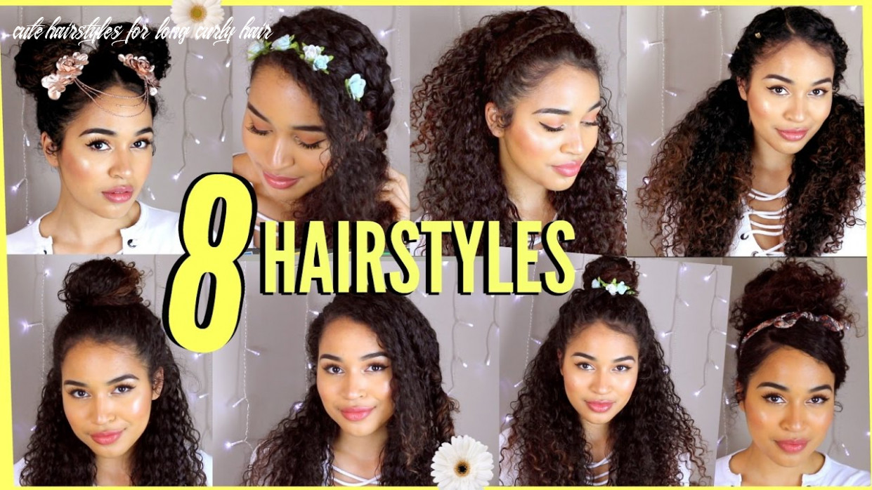 9 spring/summer hairstyles for naturally curly hair! by lana summer cute hairstyles for long curly hair
