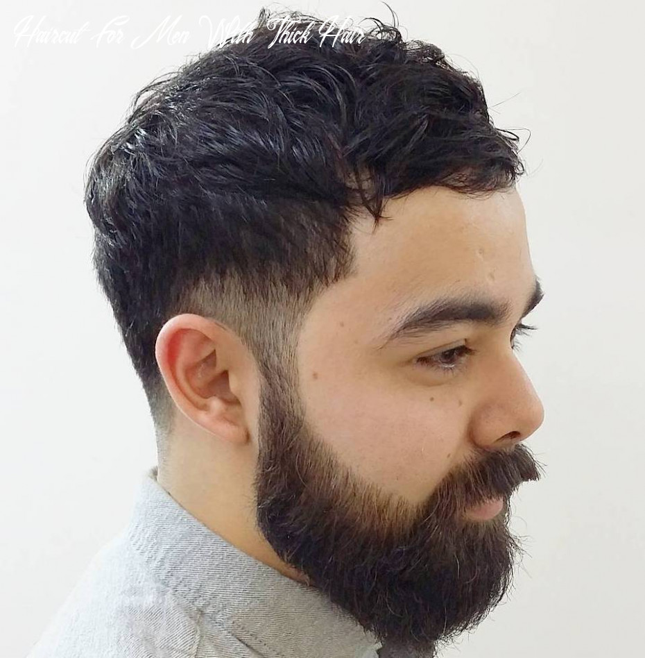 9 statement hairstyles for men with thick hair haircut for men with thick hair