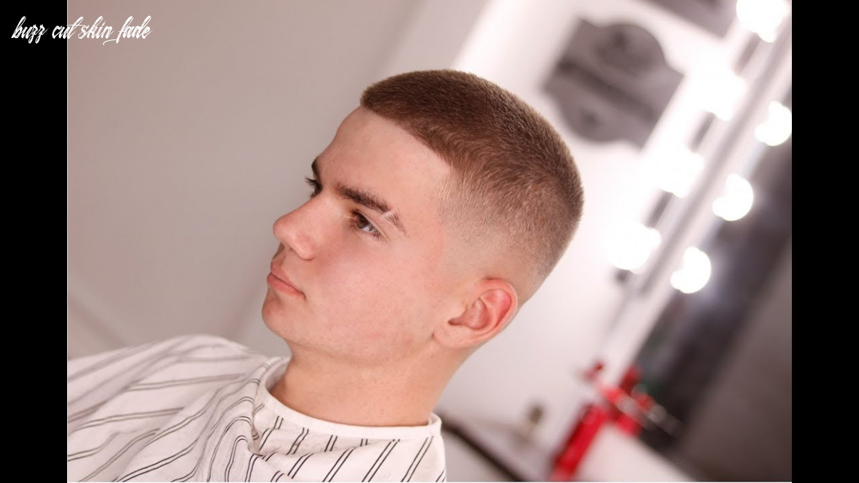9 steps for a smooth buzz cut skin fade || mens how to hair tutorial