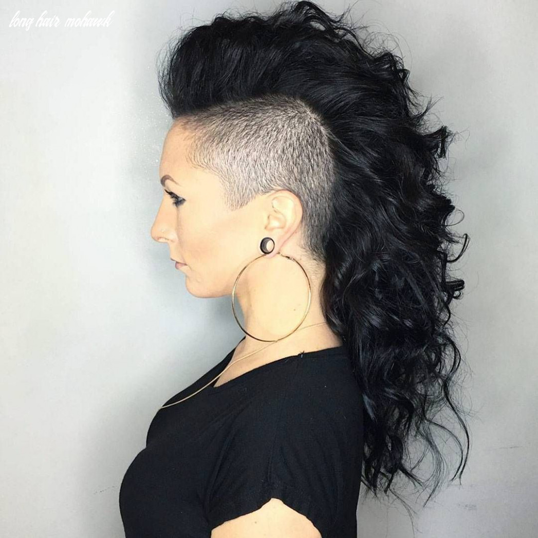 9 stunning curly mohawk hairstyles — cuteness and boldness check