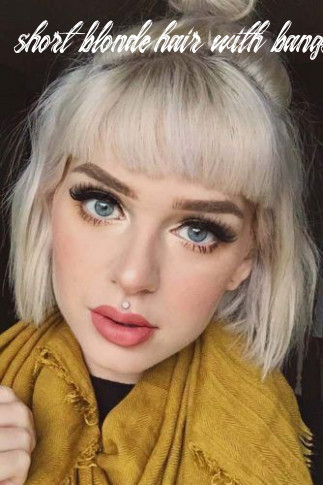 9 styles for short hair with bangs | short hair with bangs, short