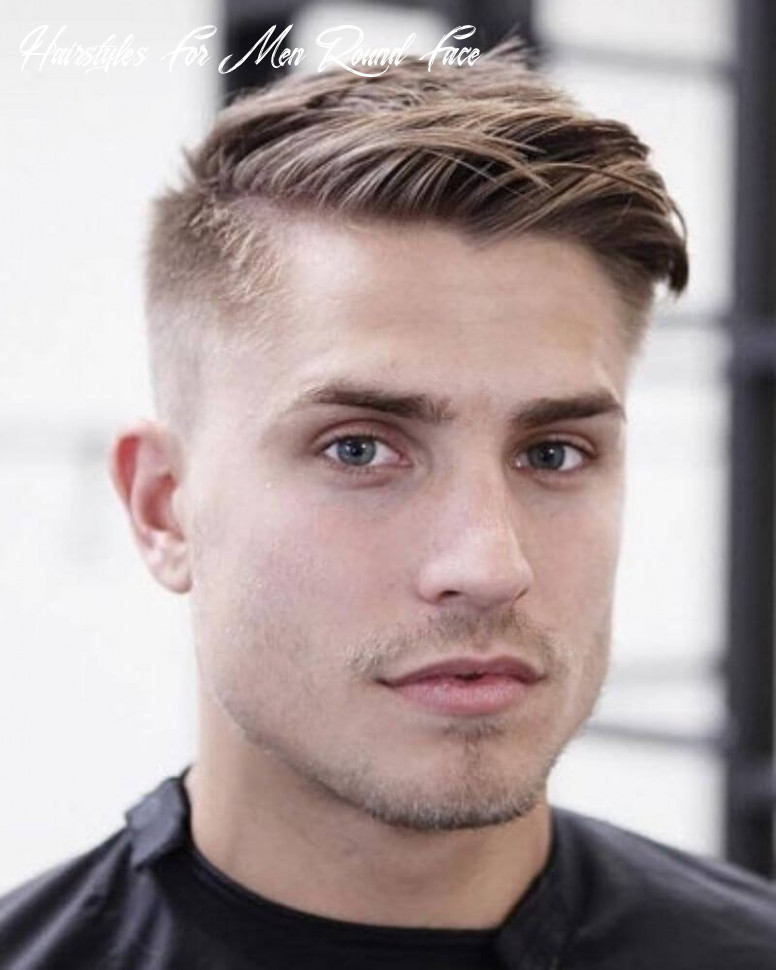 9 stylish hairstyles for men having thick hair and round face