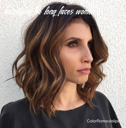 9 super chic hairstyles for long faces to break up the length hairstyles for long faces women