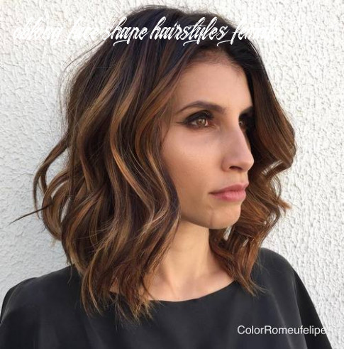 9 super chic hairstyles for long faces to break up the length oblong face shape hairstyles female