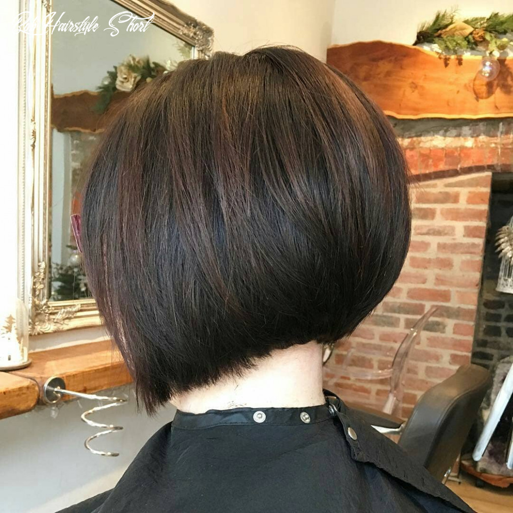9 super hot stacked bob haircuts: short hairstyles for women 9