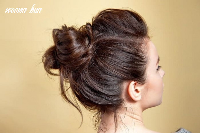 9 top notch messy buns for women with long hair women bun