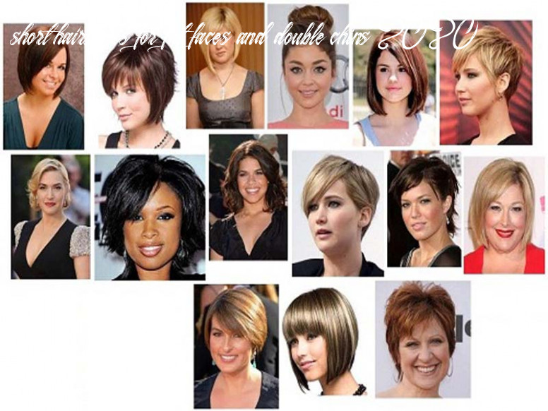 9 trendy and best short haircuts for fat face in 9 | styles at