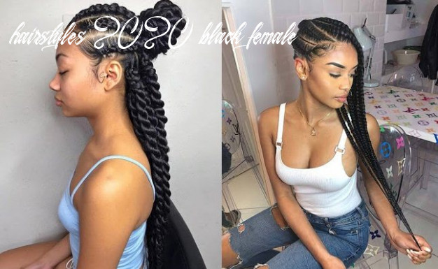 9 trendy cornrows braids hairstyles for black women to copy in
