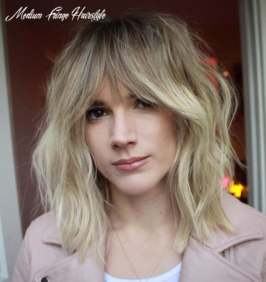 9 trendy haircuts and hairstyles with bangs in 9 hair adviser medium fringe hairstyle